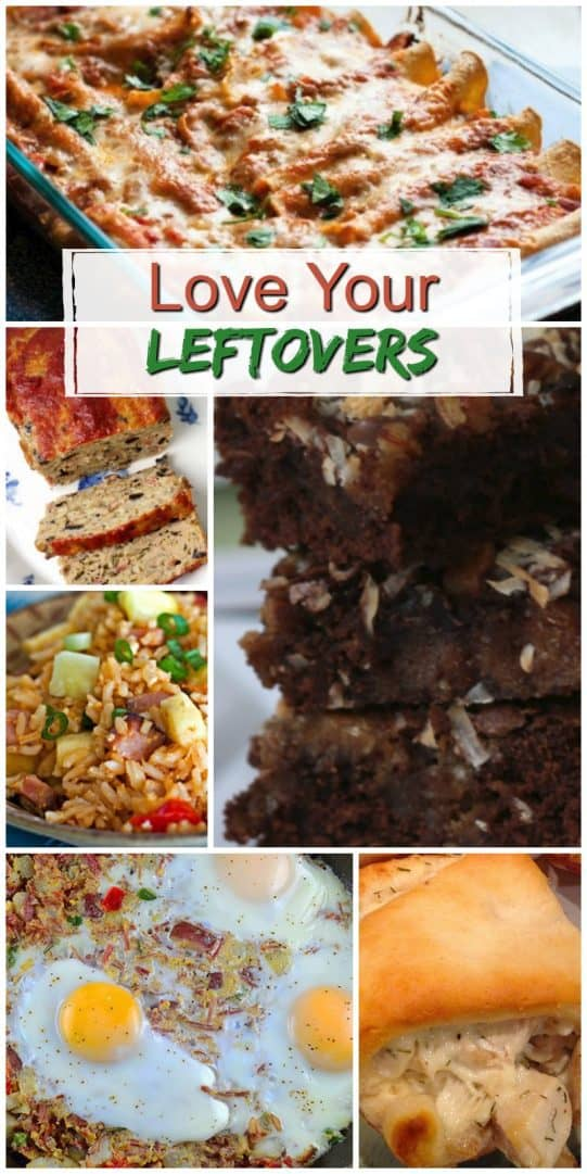 20 ways to turn your leftovers into great family meals on a budget.