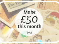 3 super easy ways to make £50 this month (July 2019)....