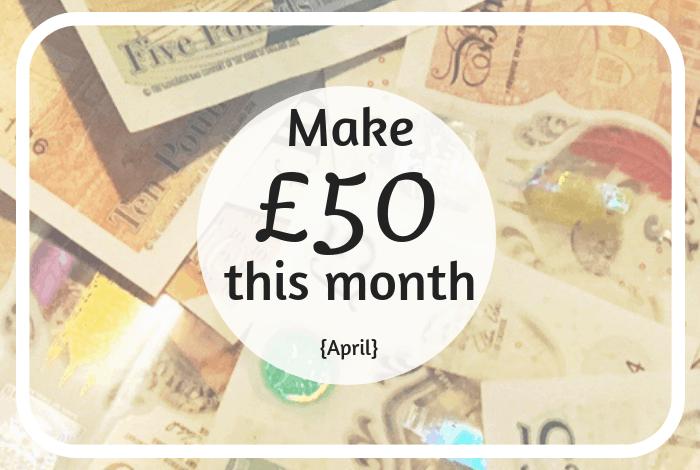 Make £50 this month #earnmoney #savemoney #budget