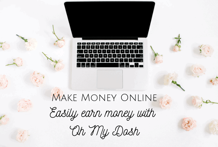 Make Money Online - Easily earn money with Oh My Dosh! #makemoneyonline #makemoney #earnmoney