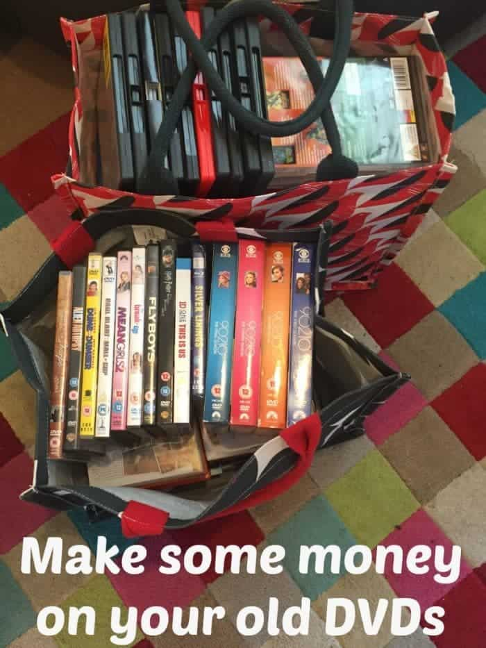 Make some money on your old DVDS
