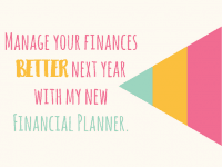 Manage your finances better next year with my new Financial Planner....