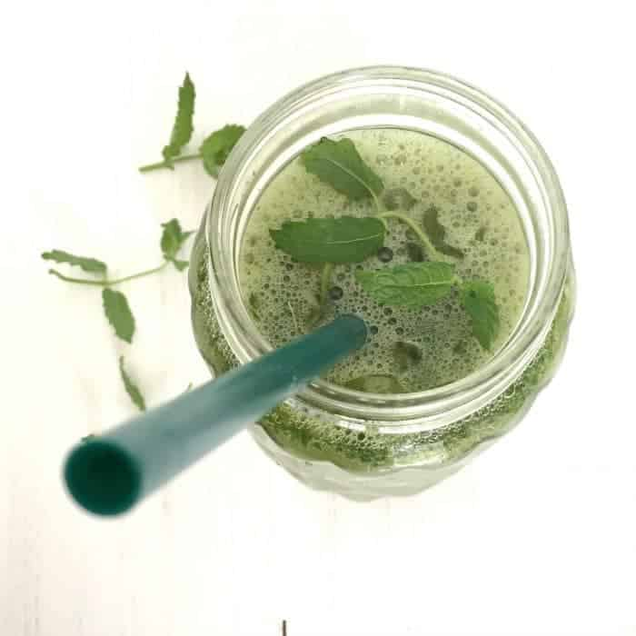 Match, Mint and Ginger Iced Tea
