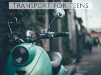 Transport for teenagers....