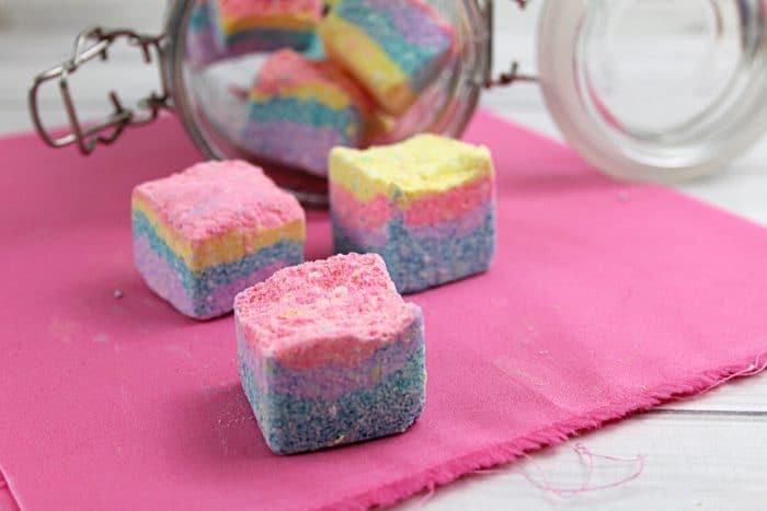 Soapy Unicorn Sugar Scrub Cubes