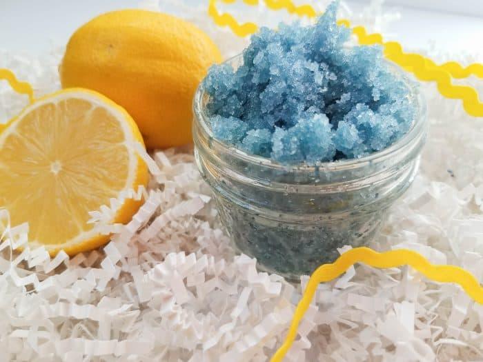 Amazing Blueberry Lemon Sugar Scrub