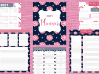 Super Pretty 2021 Life Planner {Free Printable}