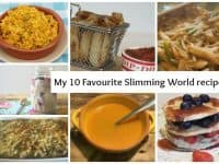 My top ten favourite Slimming World recipes....