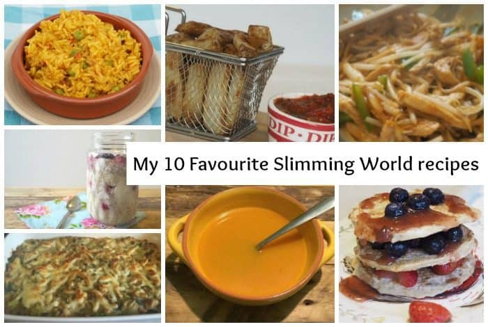 My 10 Favourite Slimming World recipes