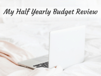 Our half yearly budget review....