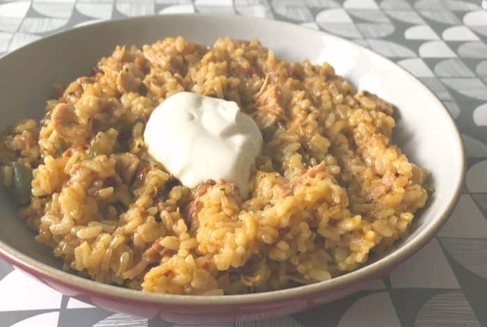 Instant Pot Amazing Chicken & Rice! #familymeals #mealplanning #instantpot #pressurecooking