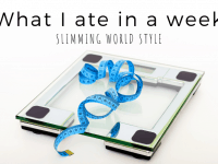 What I ate in a week - Slimming World Style....