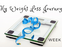 My Weight Loss Journey - Week 1 {26th January 2019}....