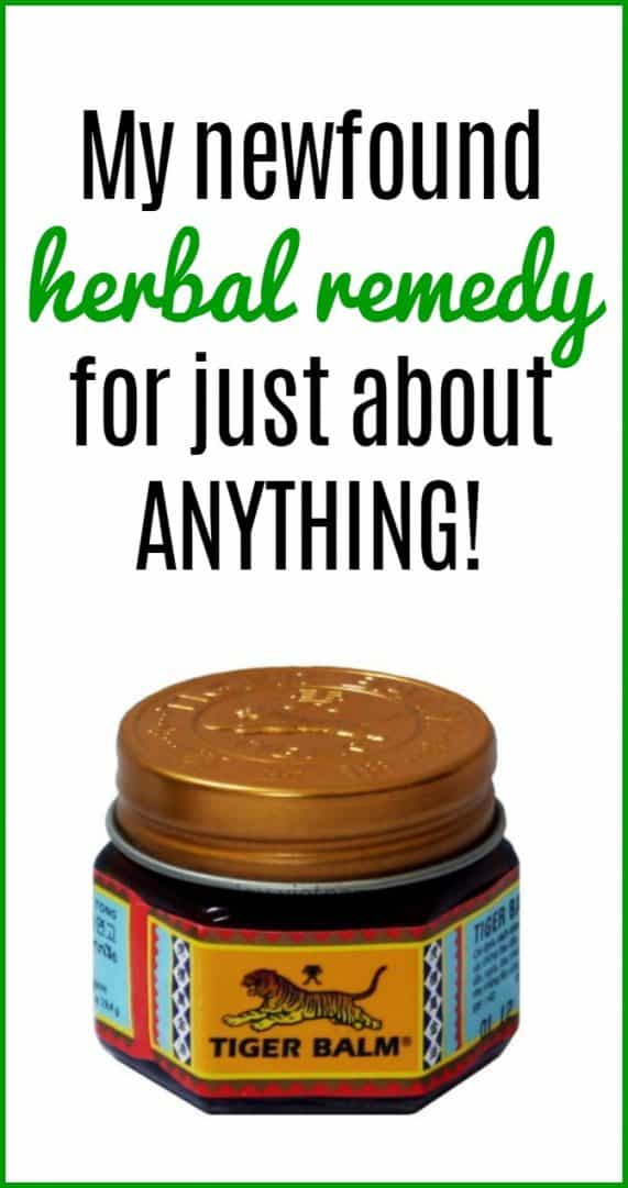 My newfound  herbal remedy  for just about ANYTHING!.  Tiger Balm has so many uses but I'm sharing the best ones on the blog with you.
