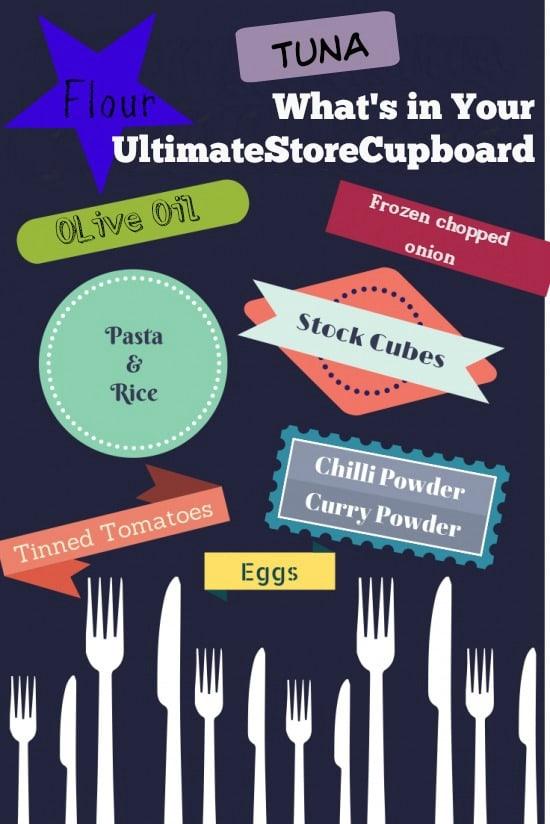 My ultimate store cupboard ingredients