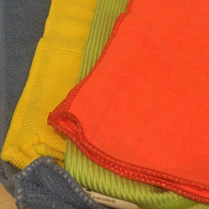 New micrfibre cloths