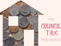 No council tax this month or next?