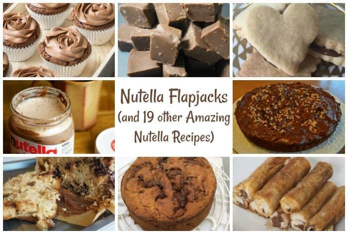 Nutella Flapjacks (and 19 other Amazing Nutella Recipes)
