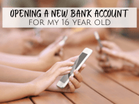 Opening a bank account for my 16 year old....
