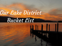 My Lake District Bucket List....