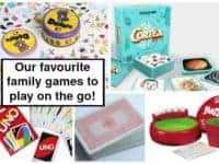 Our favourite family games to play on the go....