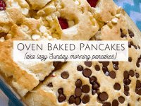 Oven Baked Pancakes....