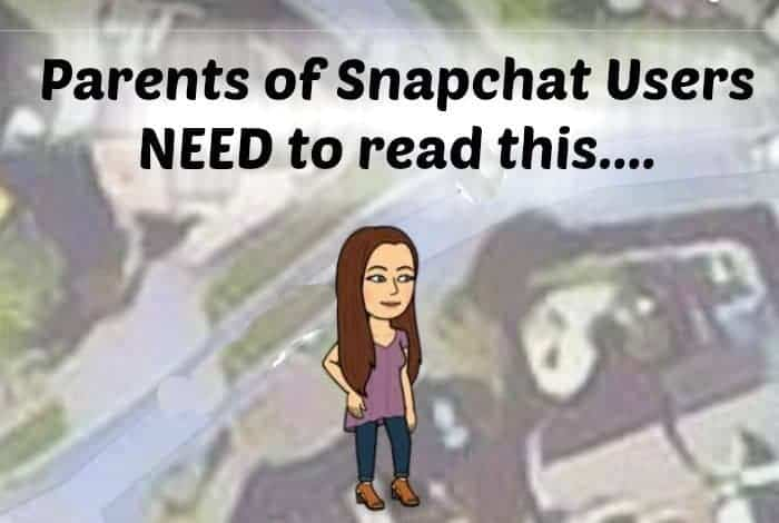 Parents of Snapchat Users NEED to read this....