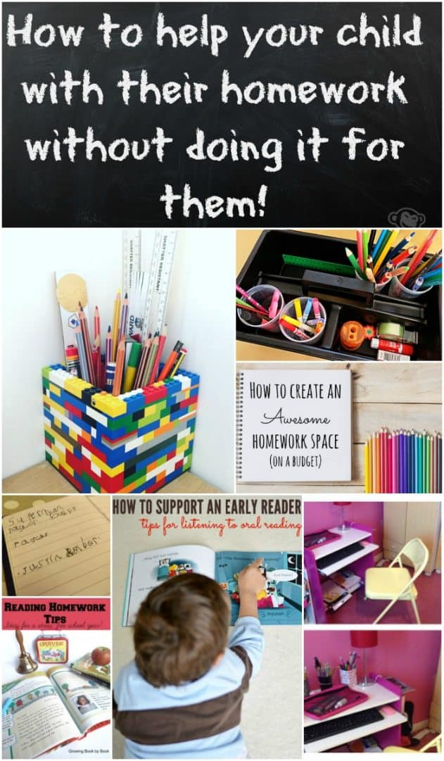 How to help your child with their homework without doing it for them! Filled with great ideas from some great bloggers on how to give your child the homework help they need without doing too much for them.