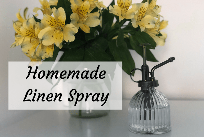 Homemade Linen Spray