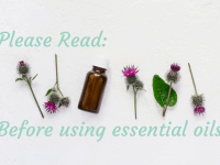 Please Read before using essential oils....