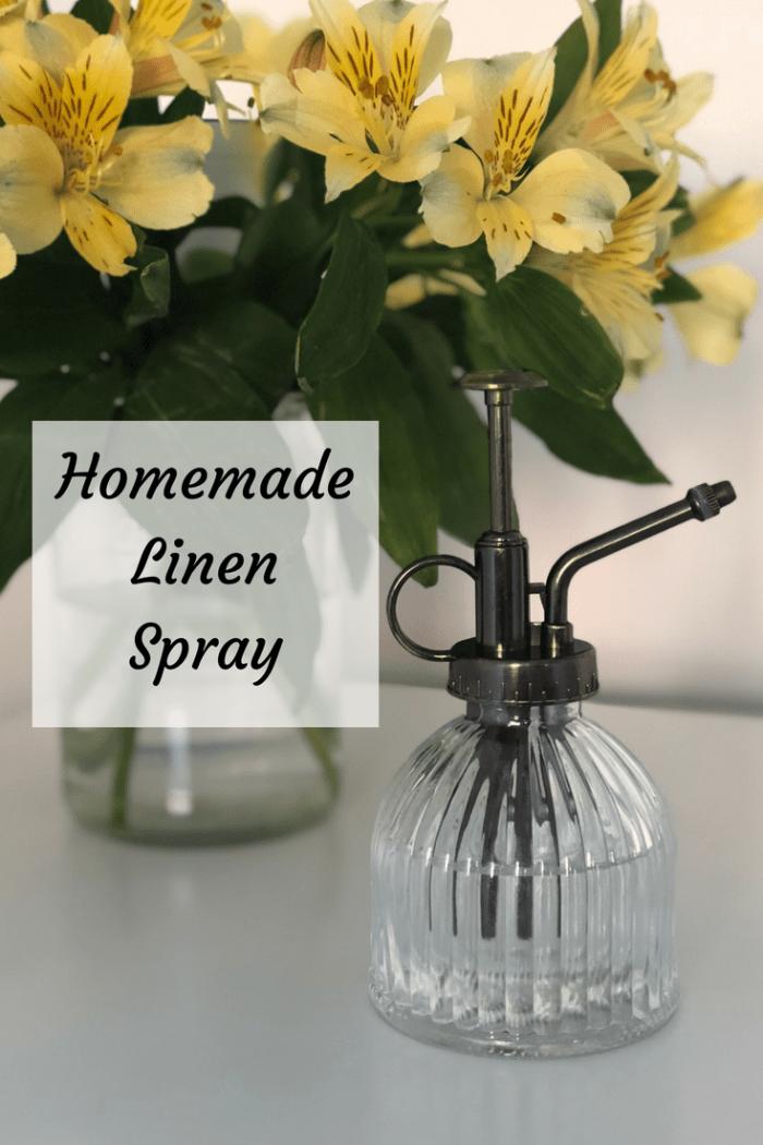 Gorgeous Homemade Linen Spray