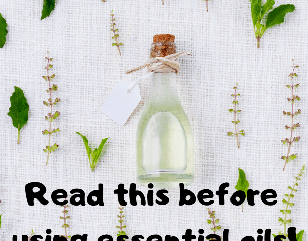 Read this before using essential oils!