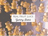 Real Fruit Juice Gummy Bears...