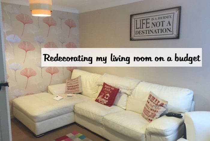 Redecorating My Living Room On A Budget In Just One Day