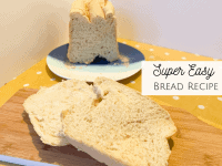 Super Easy Bread Recipe {Bread Maker Friendly}....
