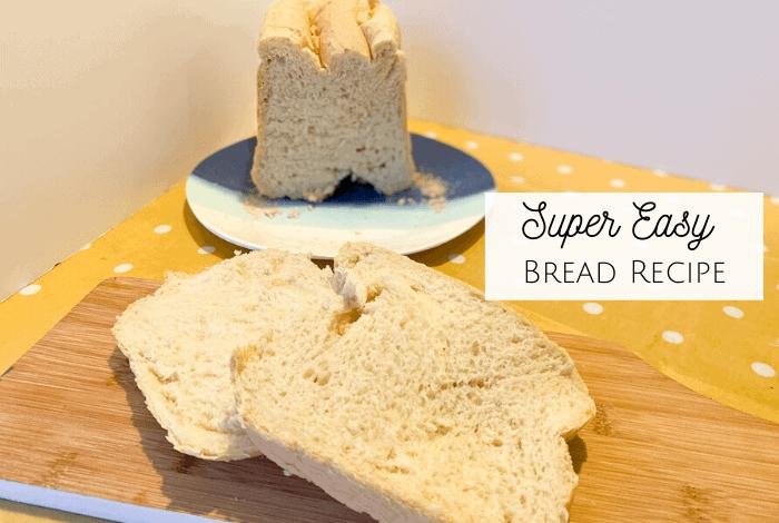 Super Easy Bread Recipe! {Breadmaker Friendly}