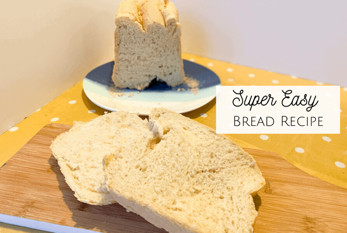 Super Easy Bread Recipe! {Breadmaker Friendly}