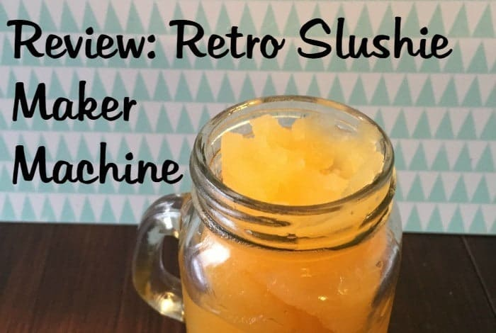 Review Retro Slushie Maker Machine