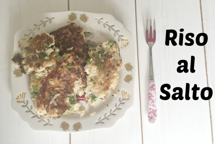 Riso al salto really is one of my favourite lunches and I guarantee it will be yours too if you try it!