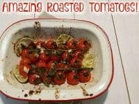 Unbelievably Good Roasted Tomatoes....