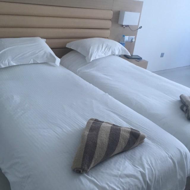 Room at the Vrissaki Beach Hotel