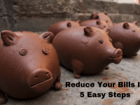 Save Money By Reducing Your Monthly Bills In 5 Easy Steps....
