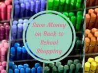 Moneysaving Back to School tips....