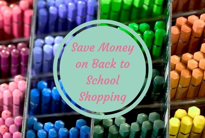 Moneysaving Back to School tips.