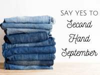 Are you ready for Second Hand September? #SecondHandSeptember