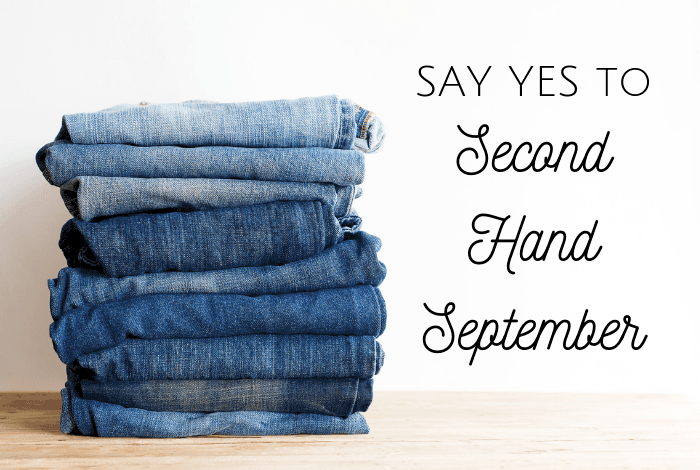 Say yes to secondhand september