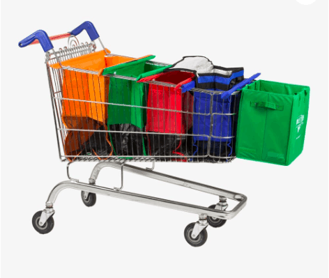 Plastic Shopping Trolley Bags