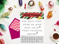 Elf on a Shelf Secret Message {Free Printable Secret Code Game}....
