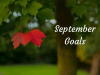 September 2018 Goals....