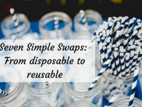Seven Simple Swaps: From disposable to reusable....